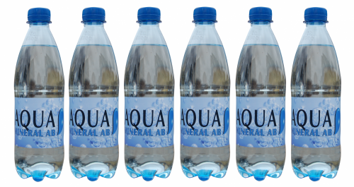 Aqua 6 flaskor bla kork